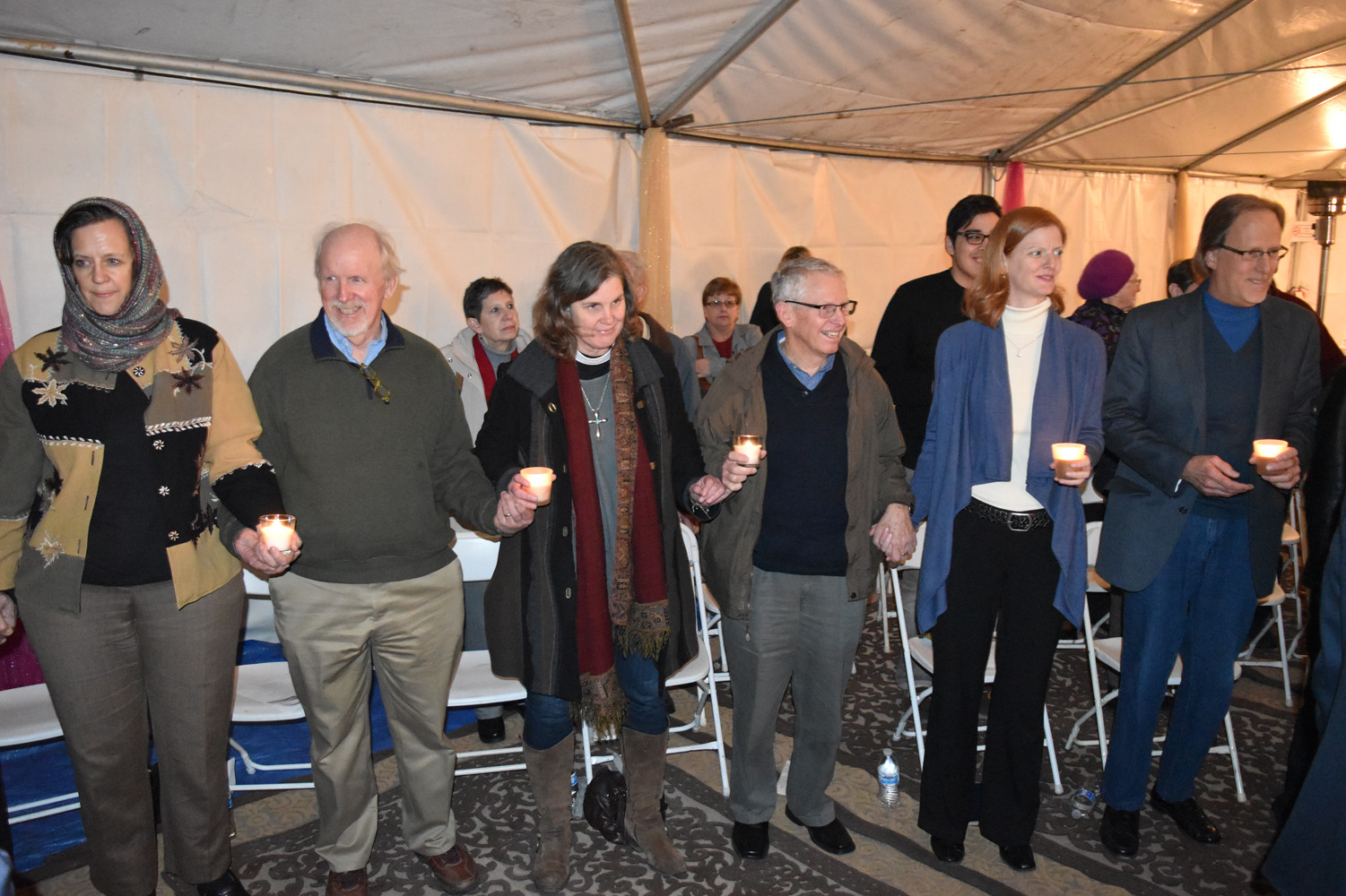 Woodland Interfaith Candles (4)